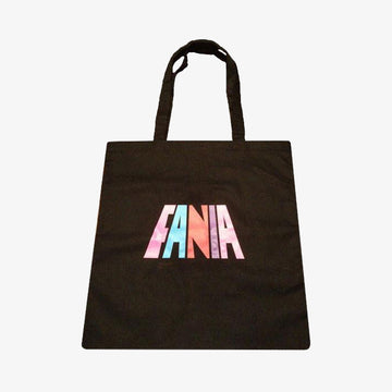 Fania Logo Tote Bag (Black)