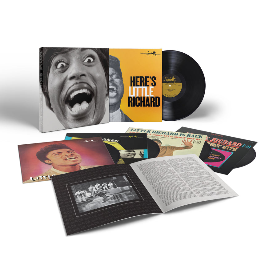 Little Richard - Mono Box: The Complete Specialty and Vee-Jay Albums (5-LP Box Set)