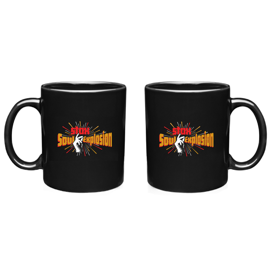 Soul Explosion 11 oz. Black Ceramic Coffee Mug
