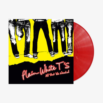 Plain White T's - All That We Needed (Red Opaque LP) [PRE-ORDER]