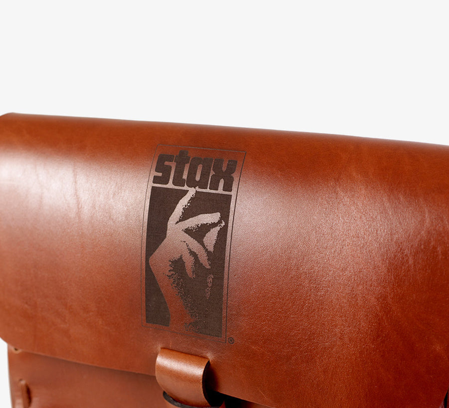 Stax Handcrafted Leather DJ Bag (Limited Edition)