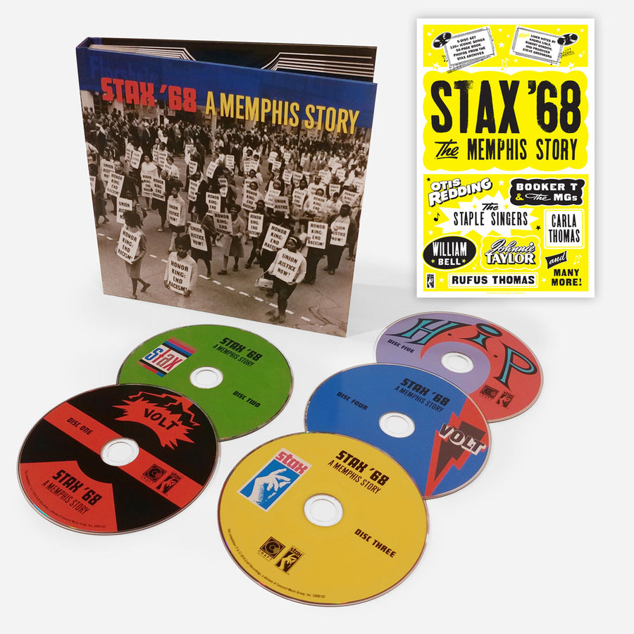 Stax '68: A Memphis Story (5-CD + Exclusive Limited Edition Poster Bundle)