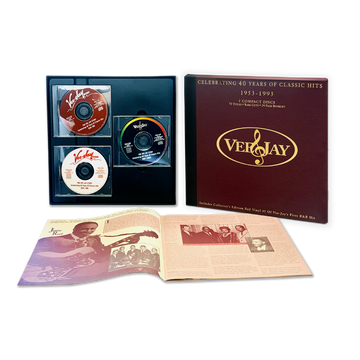 The Vee-Jay Story: Celebrating 40 Years Of Classic Hits (3-CD + 7