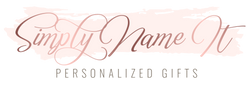 Simply Name It personalized gifts for any occasion. Bridesmaid robes, christmas pajamas, groomsman flasks, Baby Gifts, Christmas Ornaments, Embroidered Gifts, Custom T-shirts and much more. Located in Mississauga, Ontario Canada.