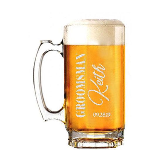Keith Design Beer Mug - SimplyNameIt