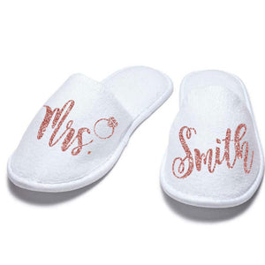 Mrs. Closed Toe Slippers - SimplyNameIt
