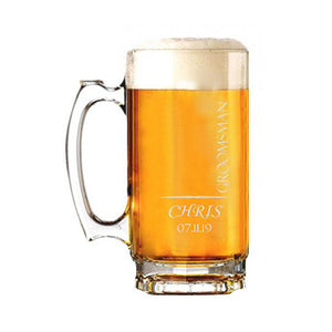 Chris Design Beer Mug - SimplyNameIt