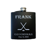 Hockey Sticks Flask - SimplyNameIt