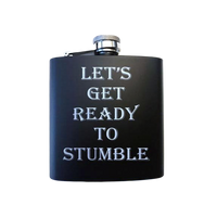 Let's Get Ready to Stumble Flask - SimplyNameIt