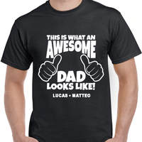 Awesome Dad T-Shirt - SimplyNameIt