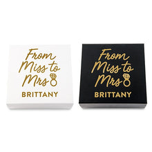 Bride Gift Box - Miss to Mrs.