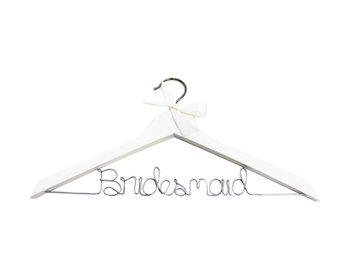 Bridesmaid Wire Hanger - SimplyNameIt
