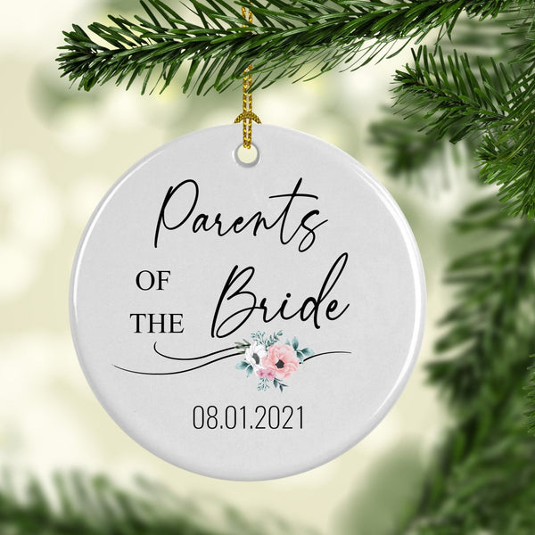 Parents of the Bride Ornament