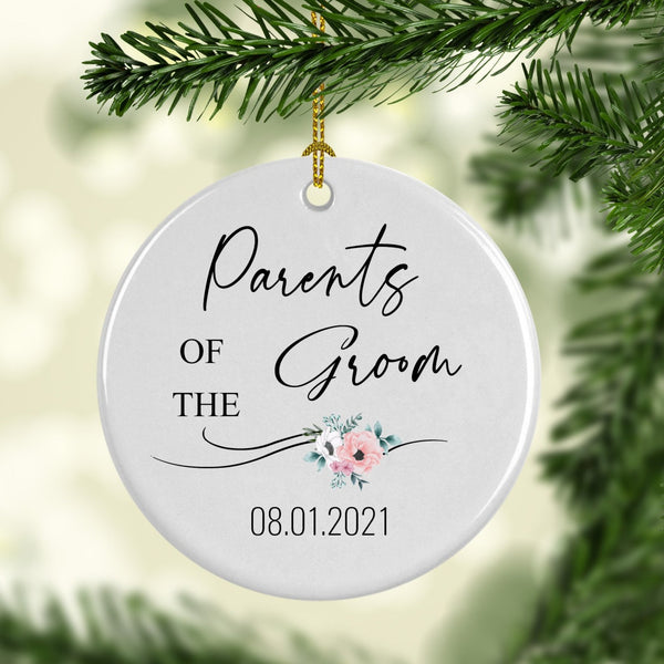 Parents of the Groom Ornament