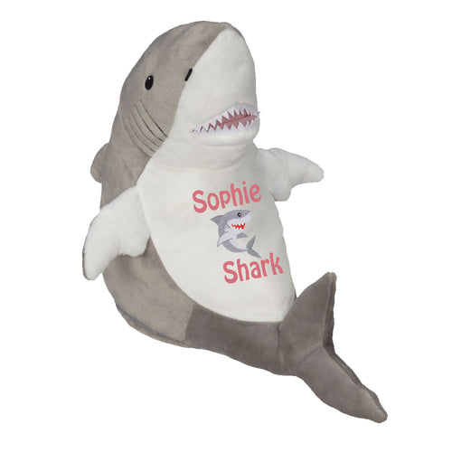 Shark with Embroidered Saying or Birth Stats - SimplyNameIt
