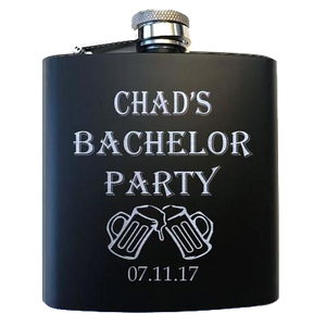 Bachelor Party Flask - SimplyNameIt