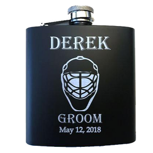 Goalie Mask Flask - SimplyNameIt