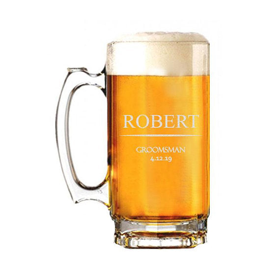 Robert Design Beer Mug - SimplyNameIt