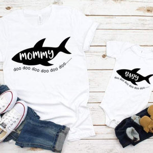 Shark Family Birthday Shirts - SimplyNameIt