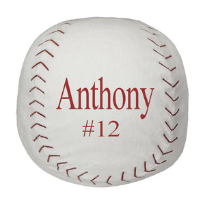 Baseball Stuffy with Embroidered name - SimplyNameIt