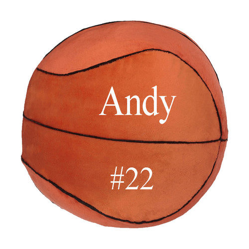 Basketball Stuffy with Embroidered name - SimplyNameIt