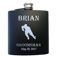 Hockey Player Flask - SimplyNameIt