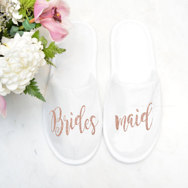 Personalized Closed Toe Slippers - SimplyNameIt