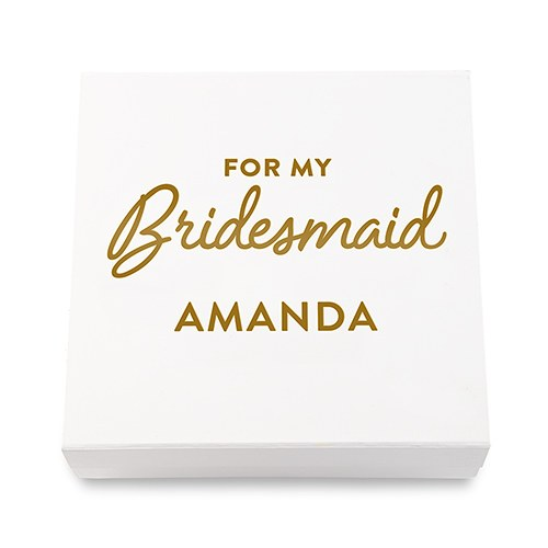 Bridesmaid Gift Box - SimplyNameIt
