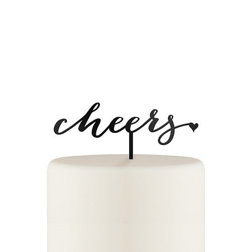 Cheers Cake Topper - SimplyNameIt