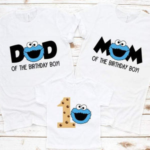 Cookie Monster Family Shirts - SimplyNameIt