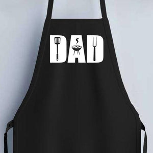 Dad Apron - Black - SimplyNameIt