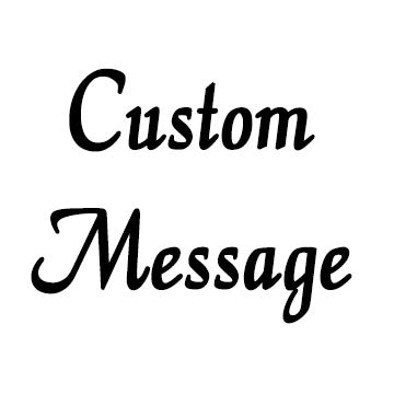 Embroidered Hanky with Custom Message - SimplyNameIt