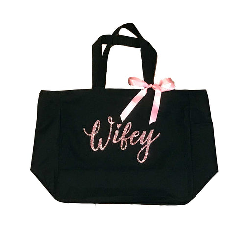Wifey / Bride / Mrs. Tote