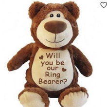 Brown Bear with Embroidered Birth Stats - SimplyNameIt