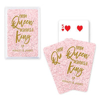 King and Queen Playing Cards Wedding Favor - SimplyNameIt