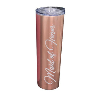 Rose Gold Tumbler - SimplyNameIt