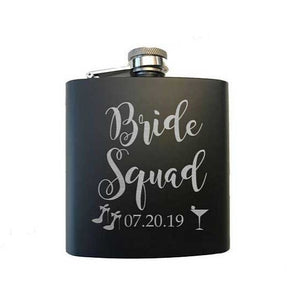 Bride Squad Flask