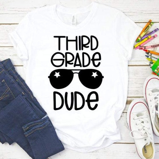 Dude Last Day of School Shirt - SimplyNameIt