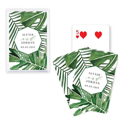 Personalized Playing Cards Wedding Favor - SimplyNameIt