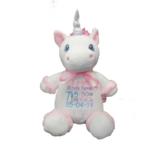 Unicorn with Embroidery - SimplyNameIt