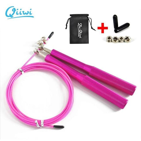 Jump Rope High Speed Crossfit Jump Rope For HIIT, Boxing, and MMA - RJT Supplies