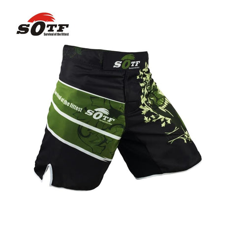 Image of MMA shorts Knee-Length MMA Fight Shorts side slit for extra flexibility - RJT Supplies