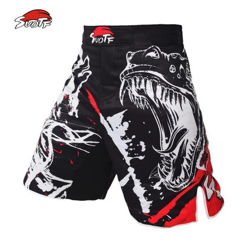 Image of MMA Shorts Knee -Length MMA Fight Shorts Side Slit for Extra Flexibility - RJT Supplies
