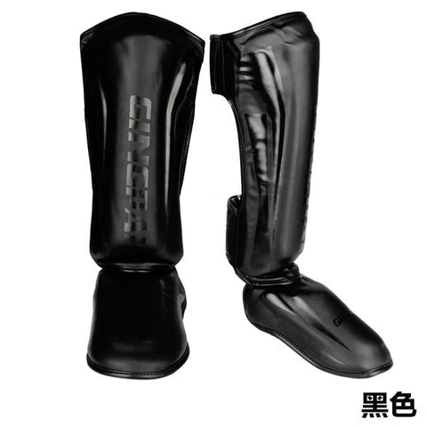 Image of Shinguards Mma Foot Muay Thai Fighting Mma Shin Guard