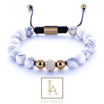 Bracelet zellion finition or jaune 18k