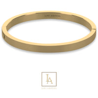 BANGLE TITANIA FINITION OR ROSE