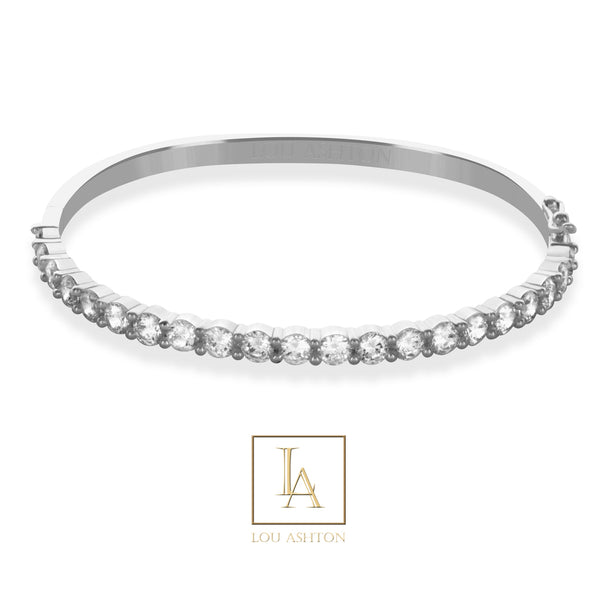 Bangle Passion finition rhodium
