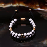 Bracelet Karma finition or jaune 18k