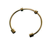 Bangle exclusif Datura finition or 18k