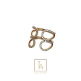 Bague Beauty  finition or rose 18k